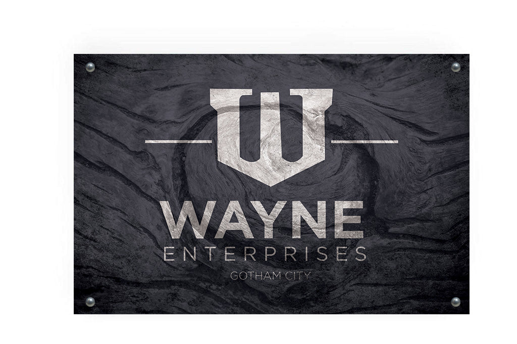 Wayne Enterprises Metal Flag Wall Decor