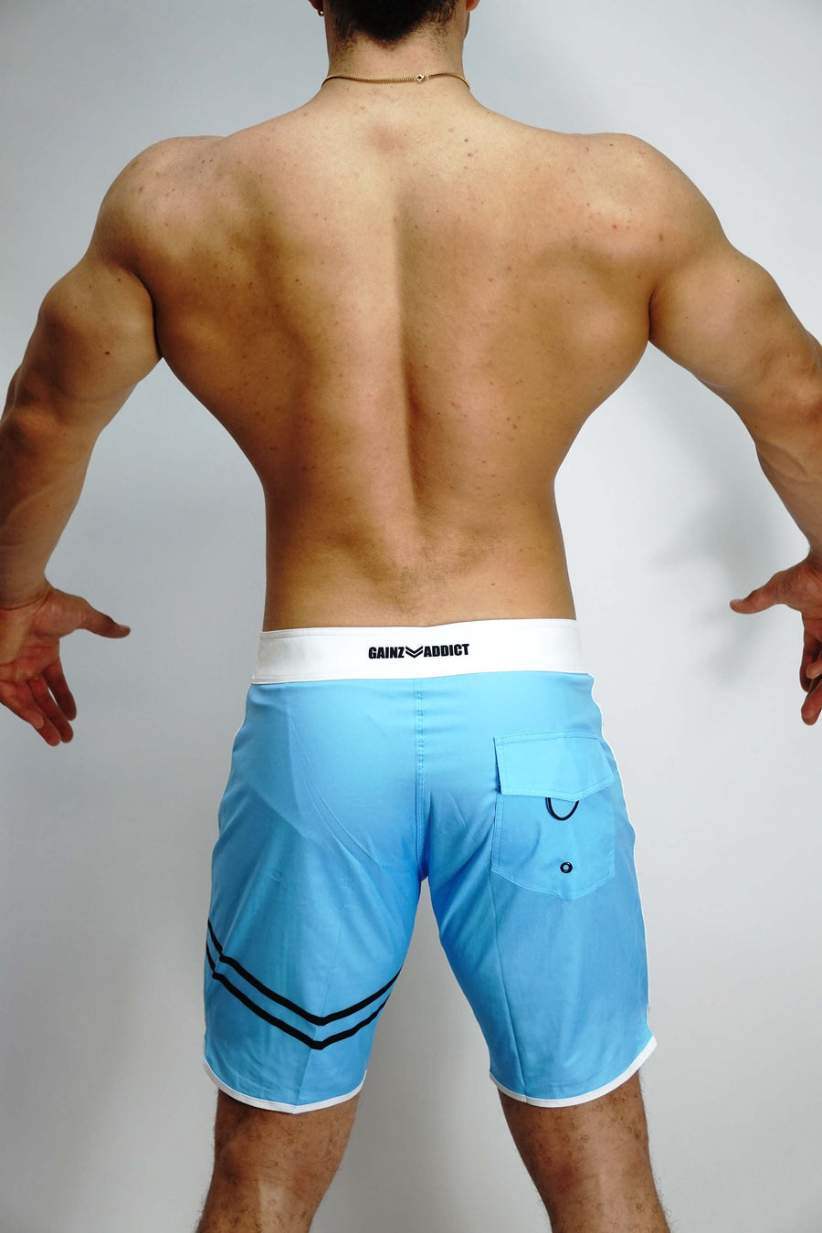 Aqua Blue Stage Shorts