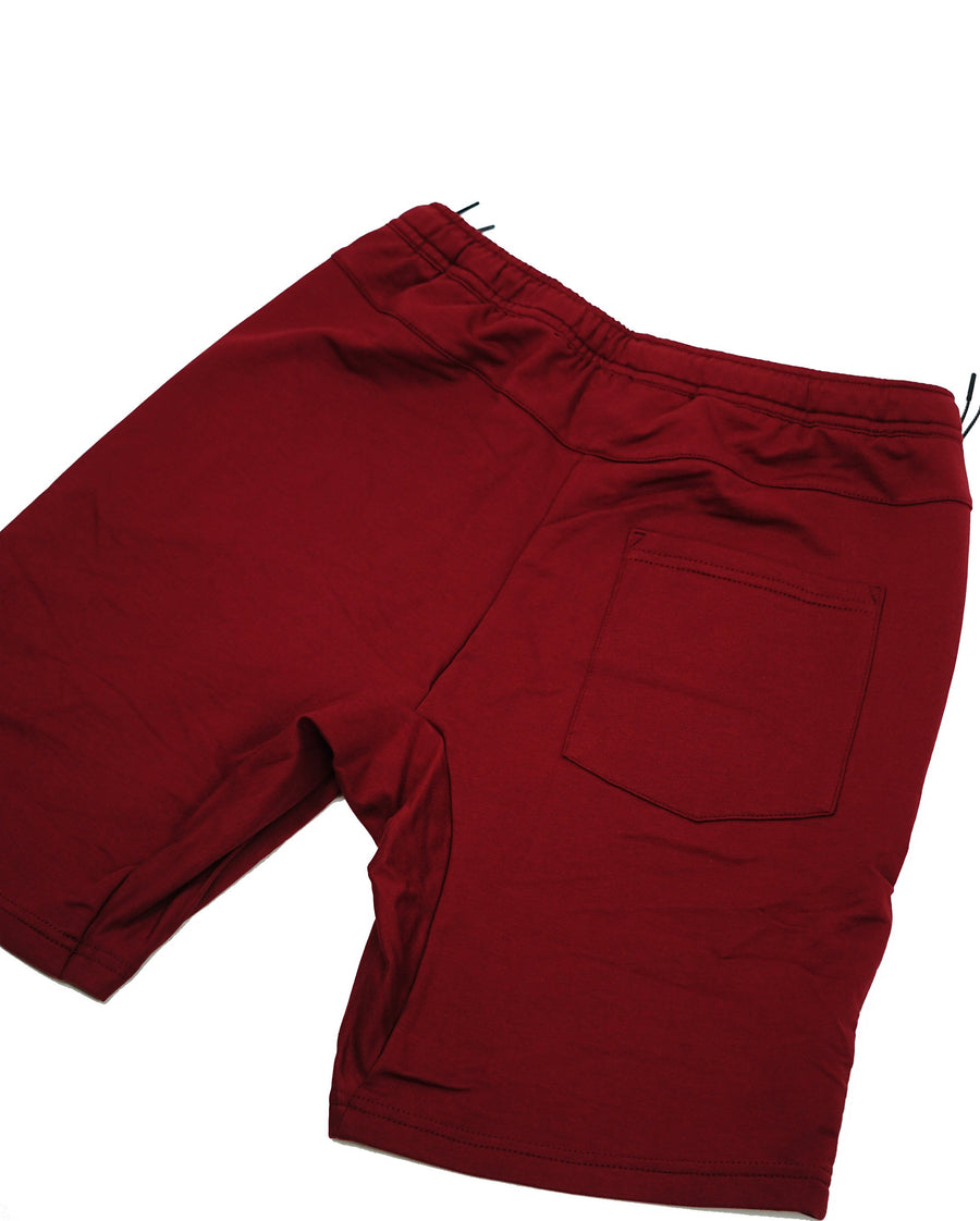 New Maroon Lux Performance Shorts