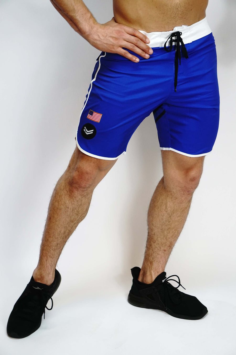 Royal Blue Stage Shorts