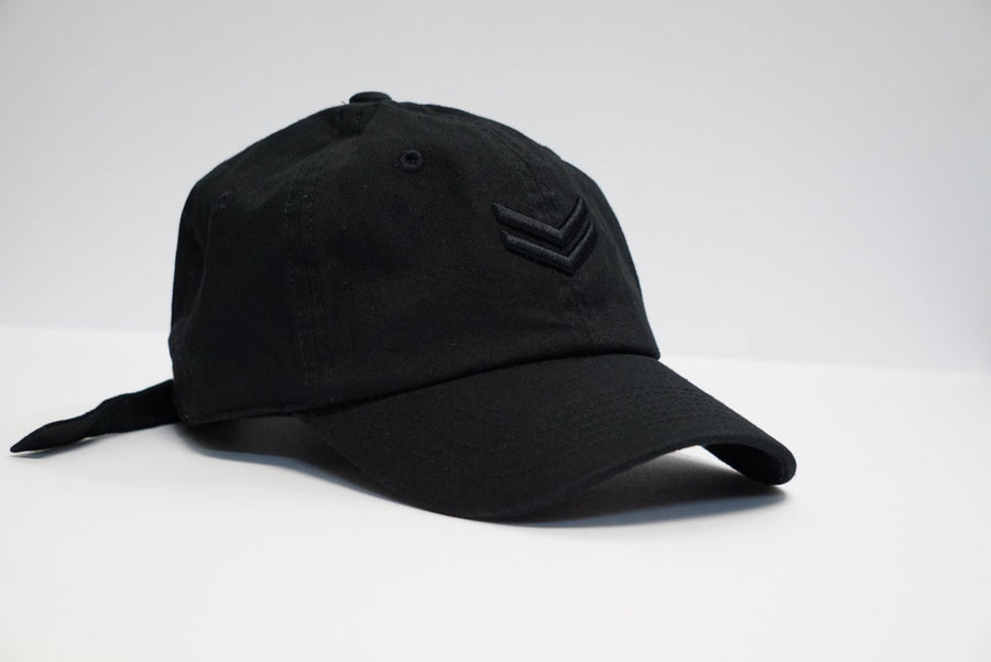Classic Black on Black Dad Hat