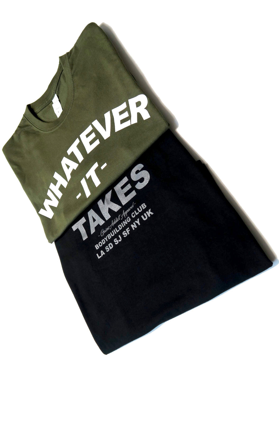 """Whatever it takes"" Bodybuilding Tee"