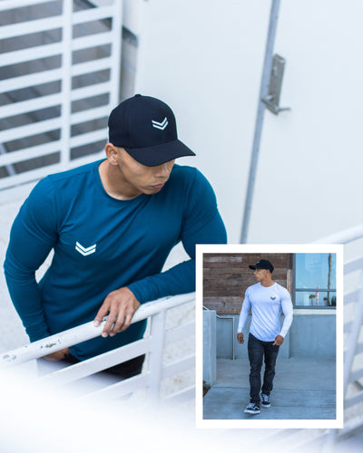 Signature Core Long Sleeve Blue