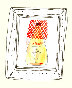 Kewpie illustration