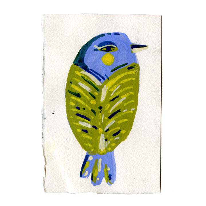 Green and Blue Bird2
