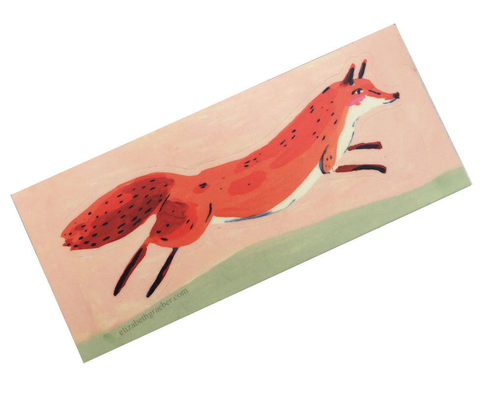 fox sticker