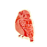 Pink Owl Sticker