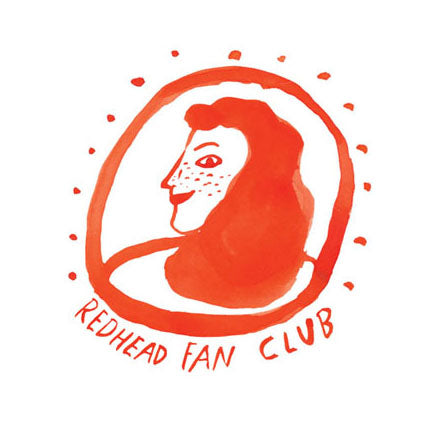 Redhead Fan Club Sticker