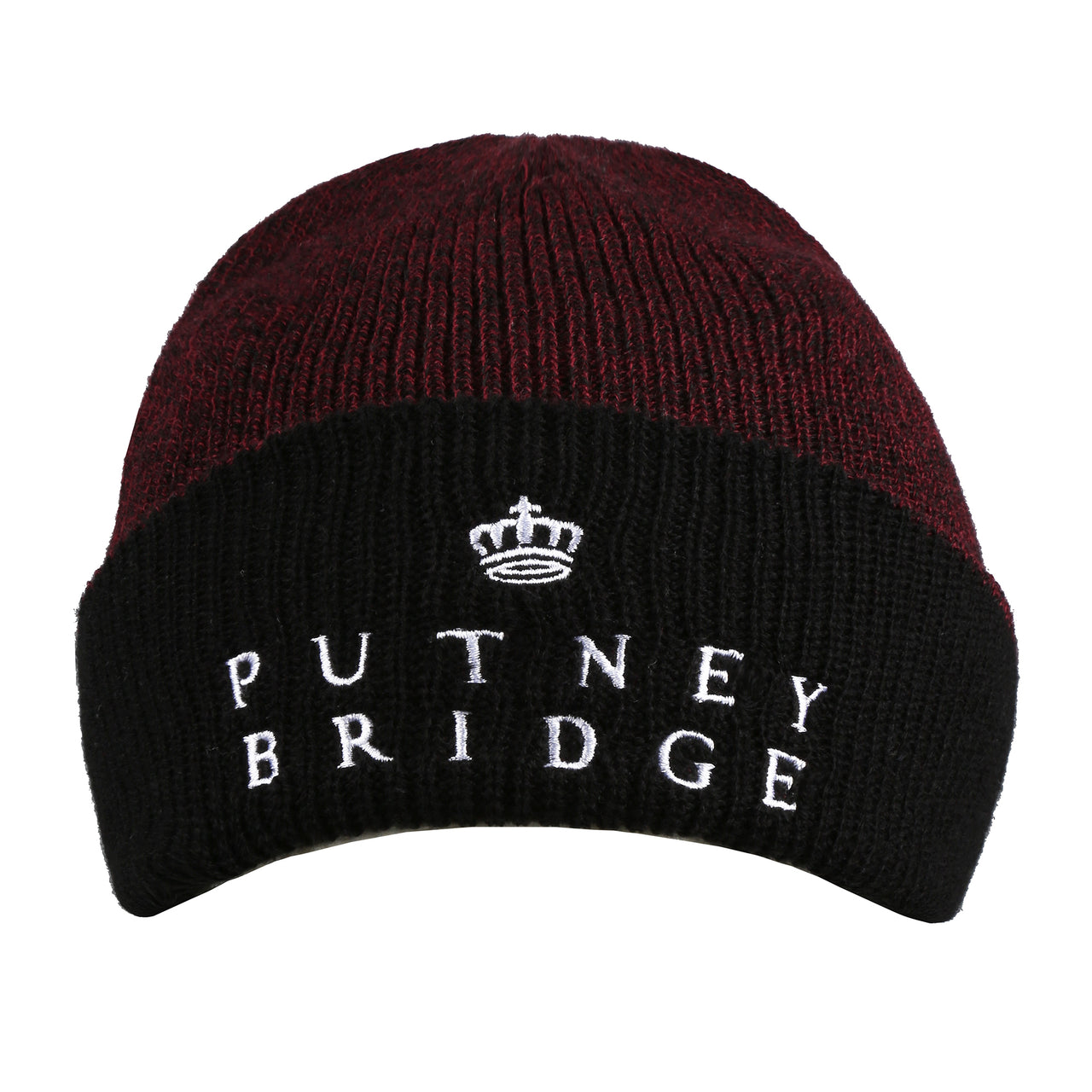 Hardfield Beanie - Antique Burgundy/ Black