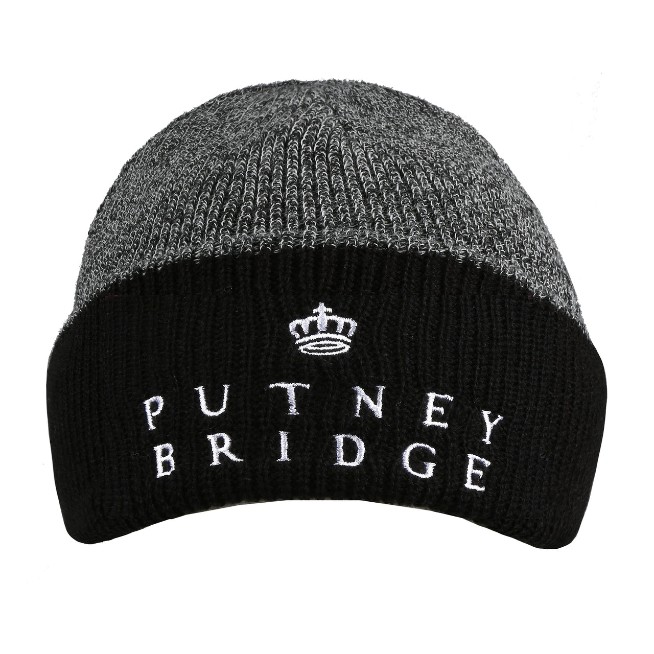 Hardfield Beanie - Antique Grey/ Black