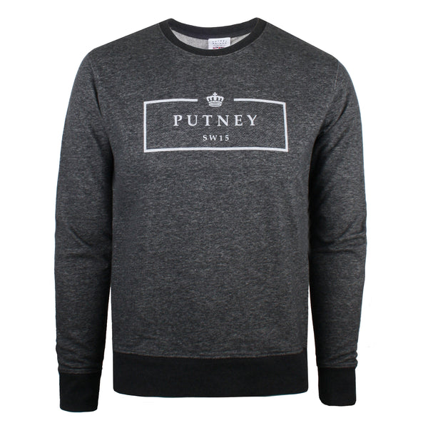 SW15 Boxed Sweatshirt - Dark Heather Grey