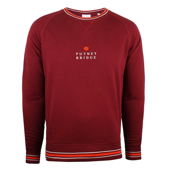 Putney Crown Sweatshirt - Burgundy