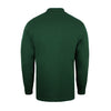Union Badge L/S Polo Shirt - Bottle Green