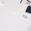 Bridge Polo Shirt - White/ Navy