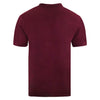 Emblem Polo Shirt - Burgundy