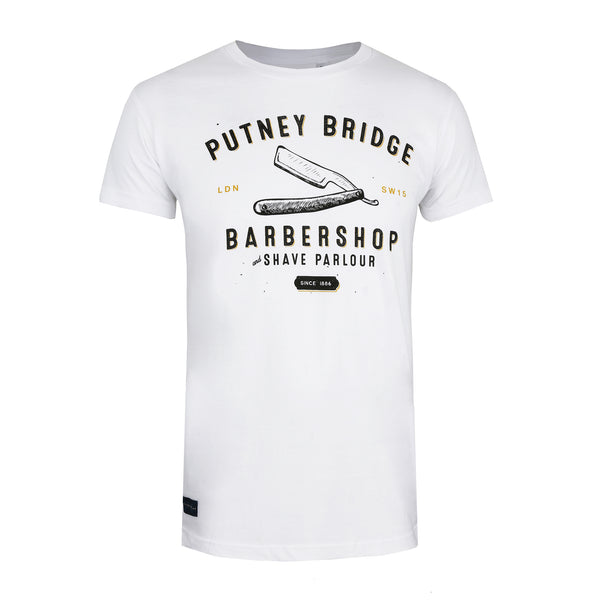 Barbershop T-shirt - White