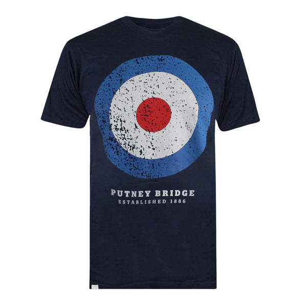 Target Distressed T-shirt - Navy