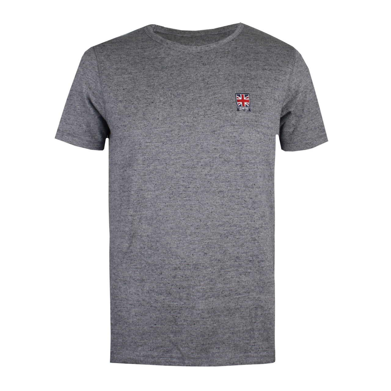 Union Jack T-shirt - Slub Heather Grey