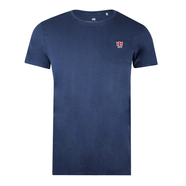 Union Badge T-shirt - True Indigo