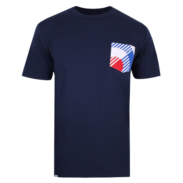 Bauhaus Pocket T-shirt - Navy