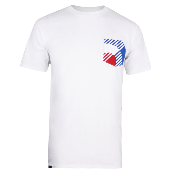 Bauhaus Pocket T-shirt - White