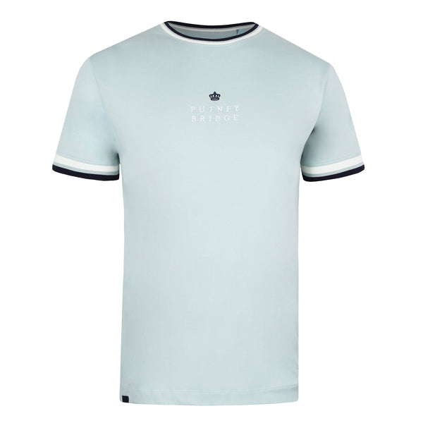 Crown Tipped T-Shirt - Teal