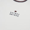 Crown Tipped T-Shirt - Vintage White
