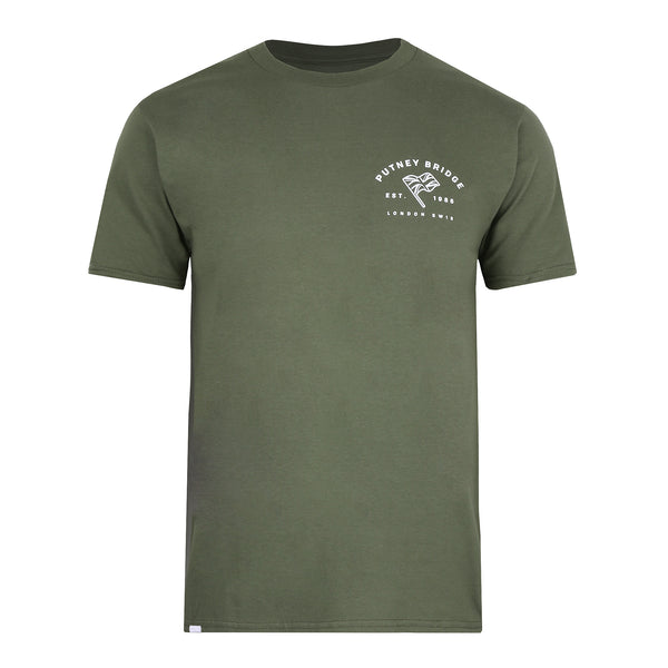 Deptford T-Shirt - Military Green