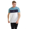 Brentwood T-Shirt - Smoke Blue/Navy/White