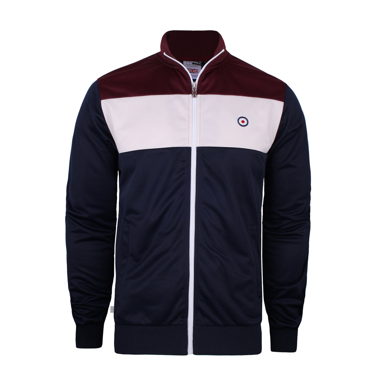 Chester Track Top - Navy