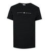 Kingston Striped T-Shirt - Black/Charcoal