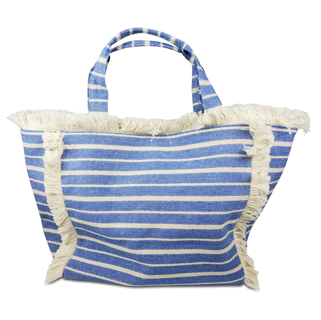 Launch Tote- Chambray