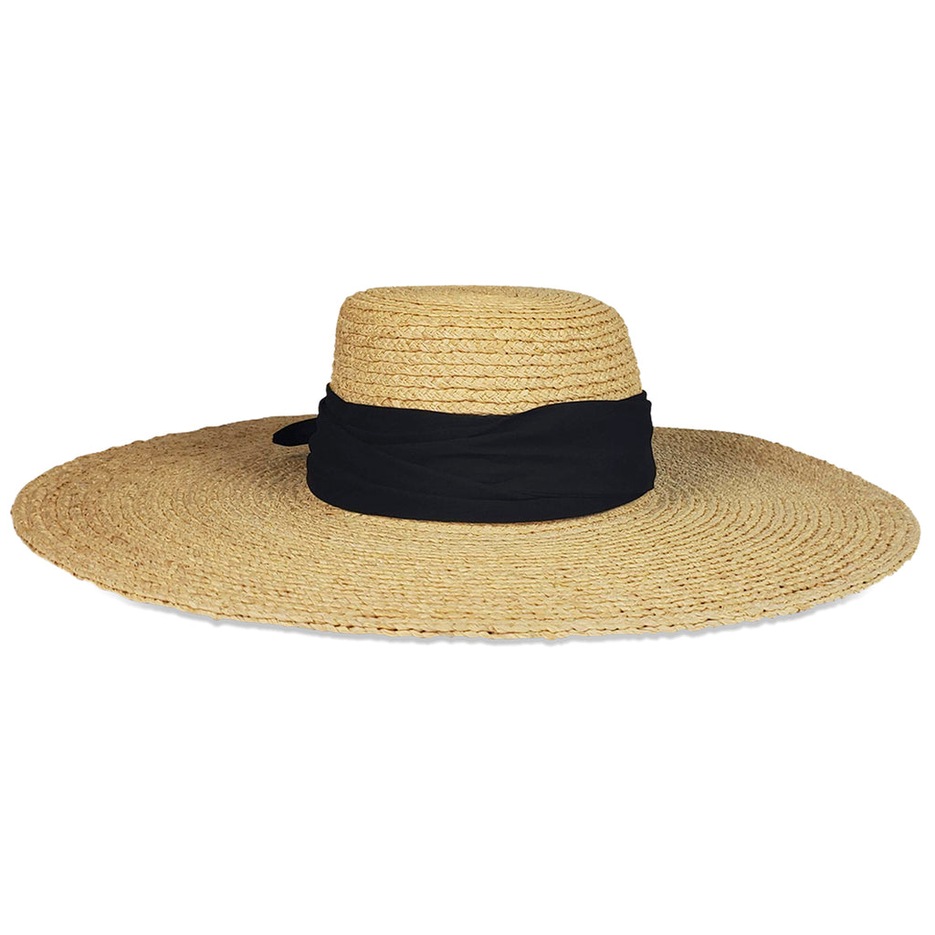Coco Sunhat- Black Fabric