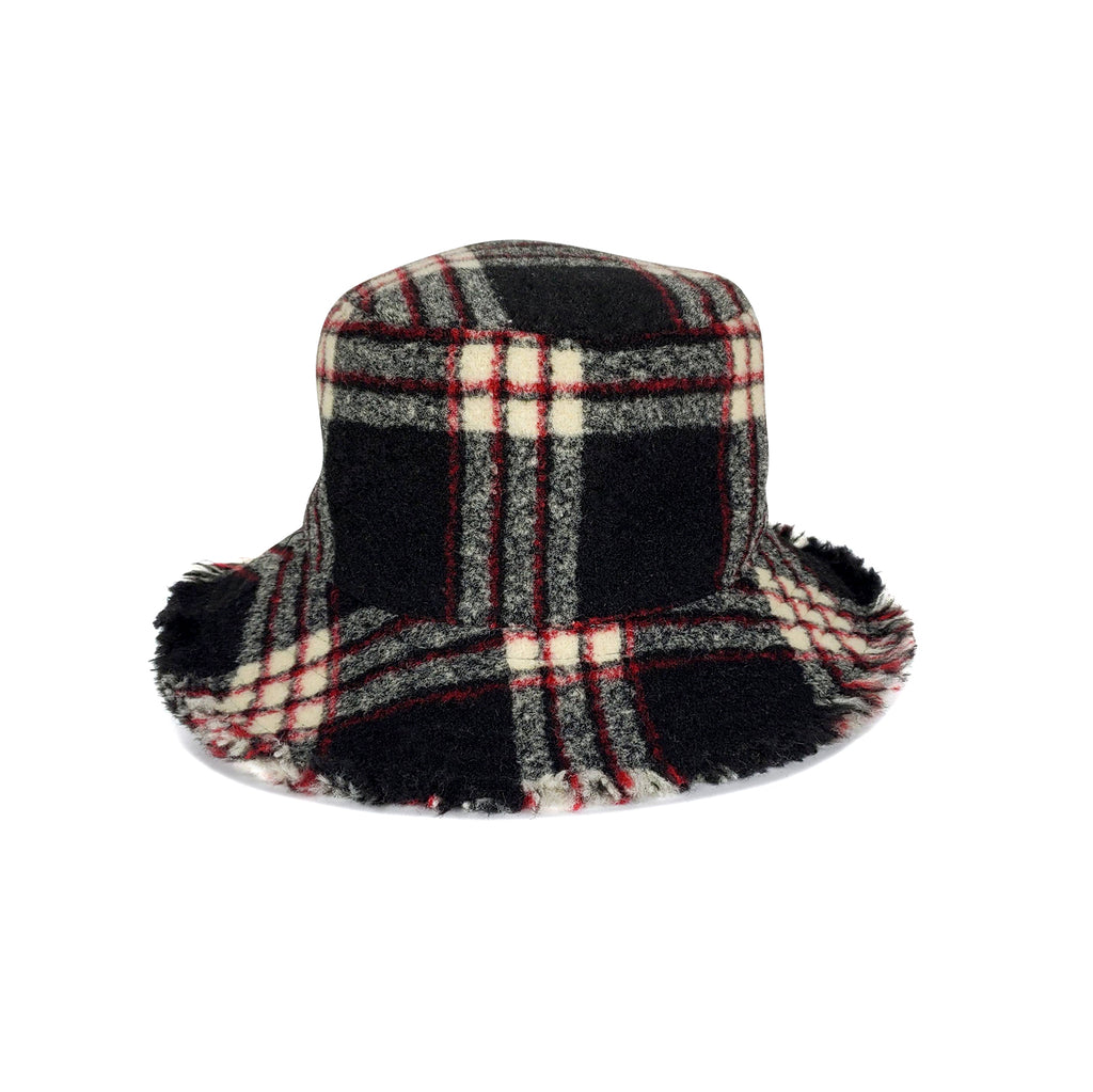 Flannel Plaid Bucket