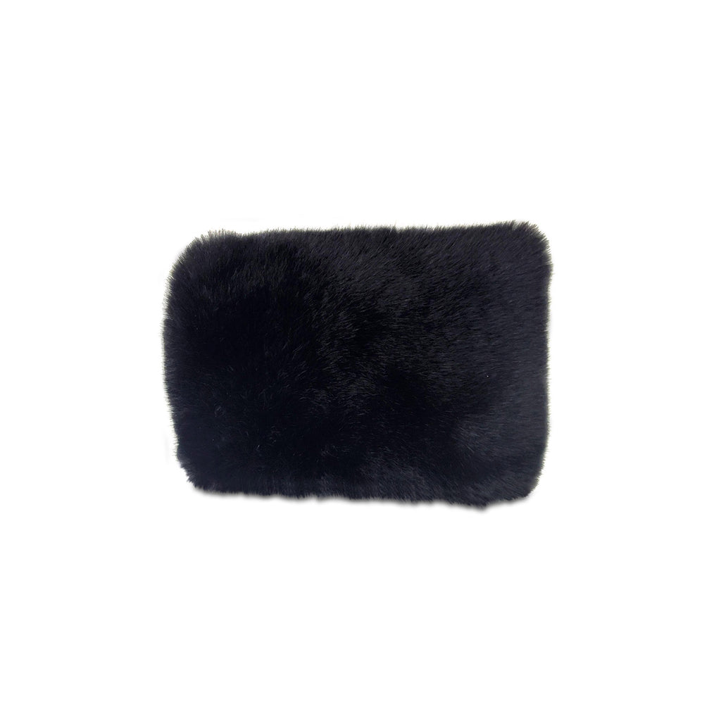 Faux Fur Convertible Clutch