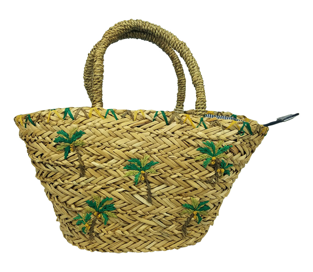 Mini palm tote