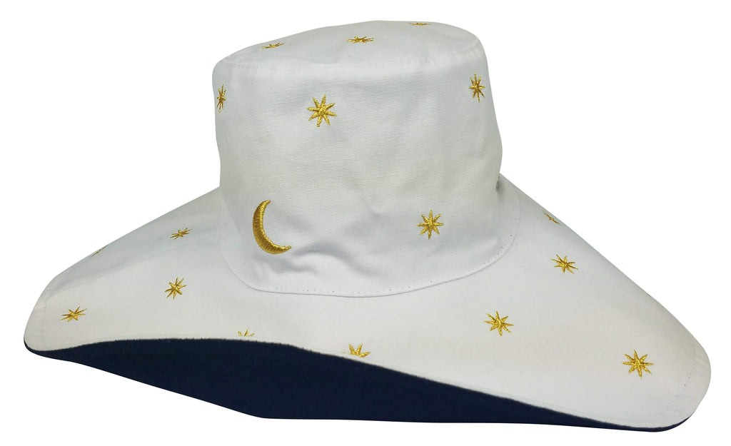 Celestial Canvas Sunhat- Reversible