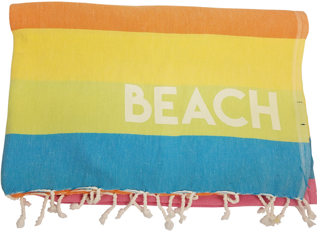 Rainbow Beach Picnic Blanket
