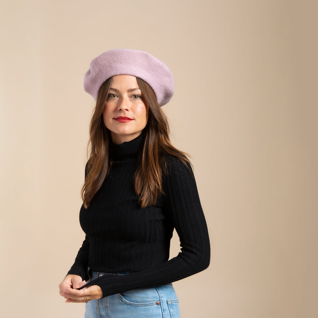 Wool Beret(11 colors available)