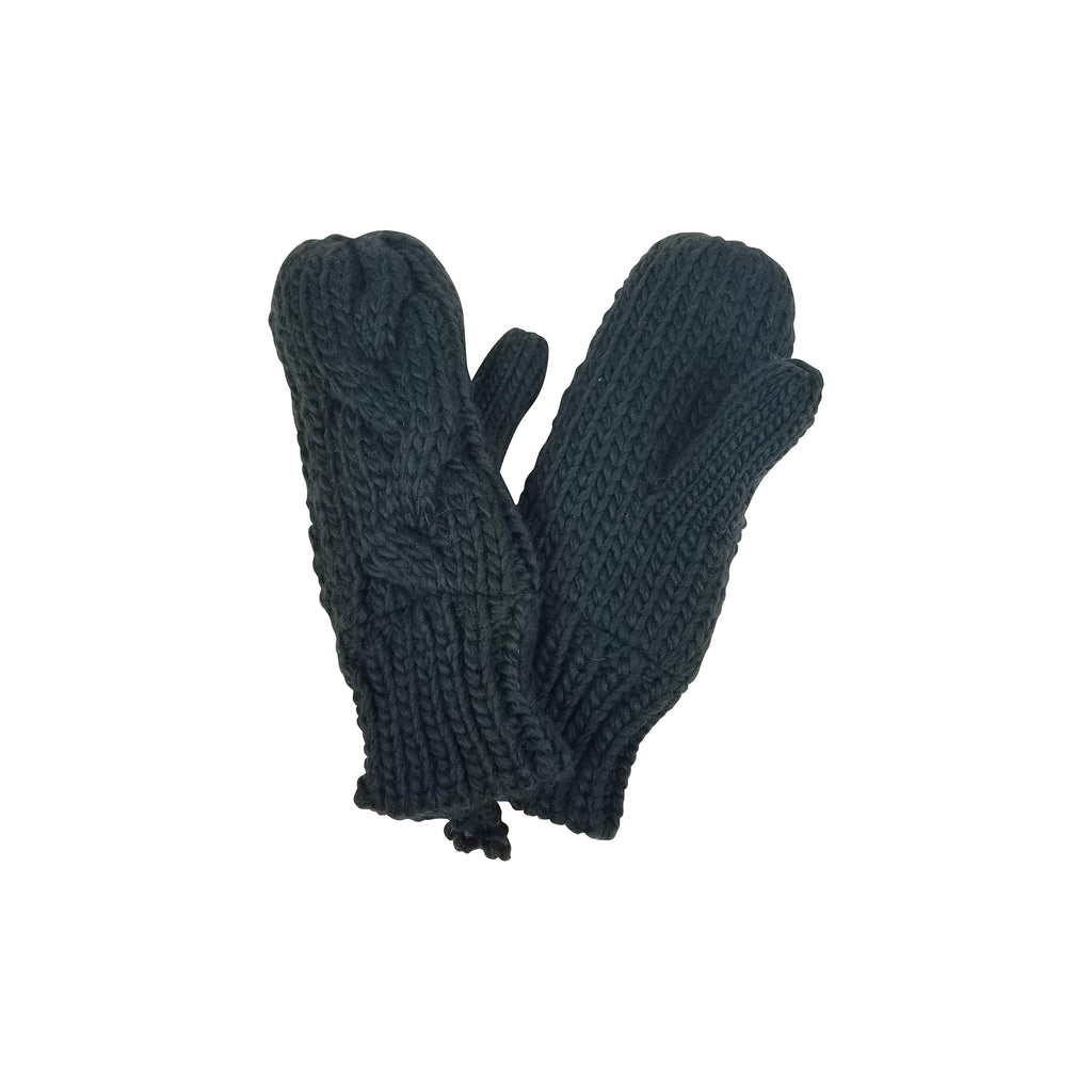 Fisherman Cable Mitten