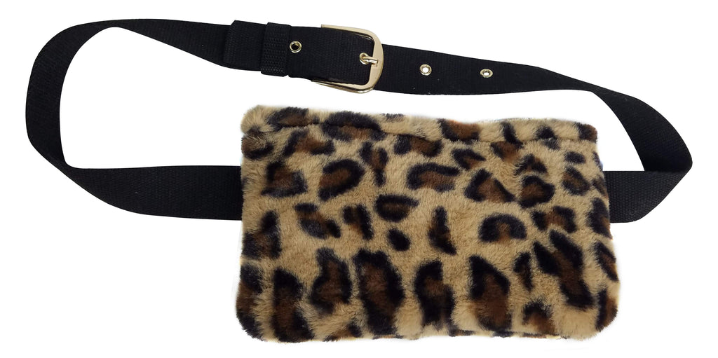 Faux Fur Belt Bag