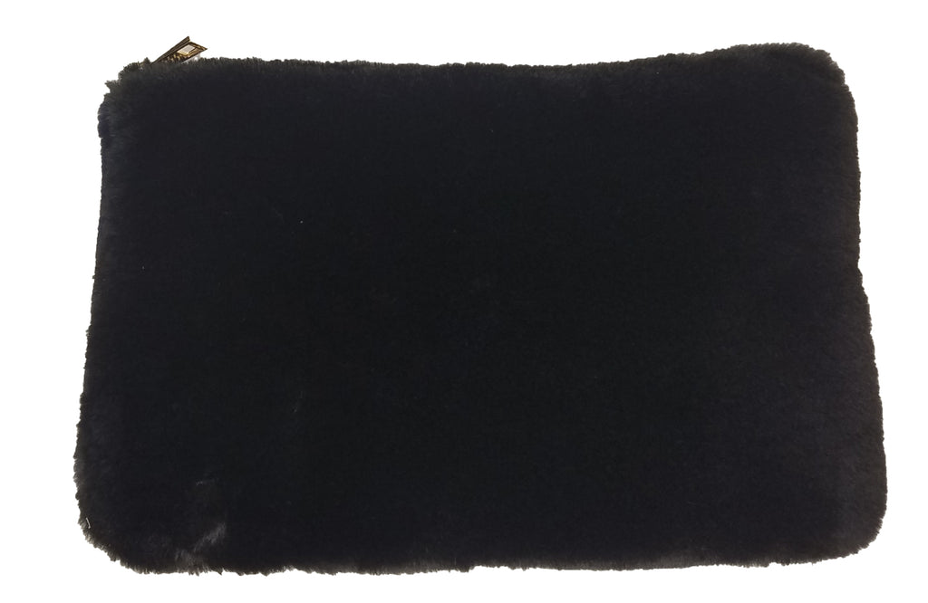 Faux Fur Clutch- Reversible