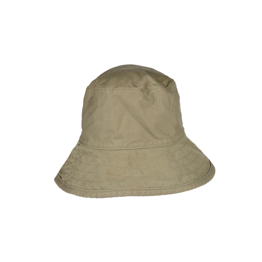 Washed Cotton Crusher- Khaki