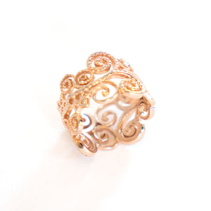 Flower Infinity Ring Edition 2