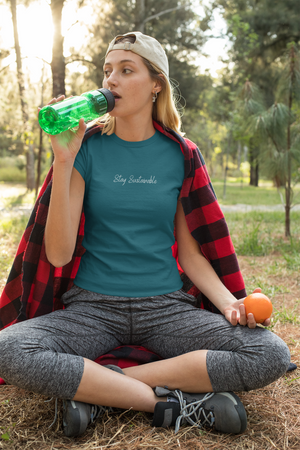 Stay Sustainable Tee