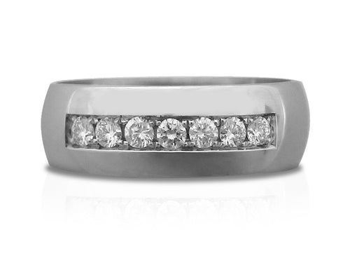 Pamela Lauz Jewellery - Platinum and Diamond Wedding Rings