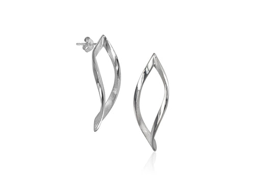 Pamela Lauz Jewellery - Foliage Stud Earrings
