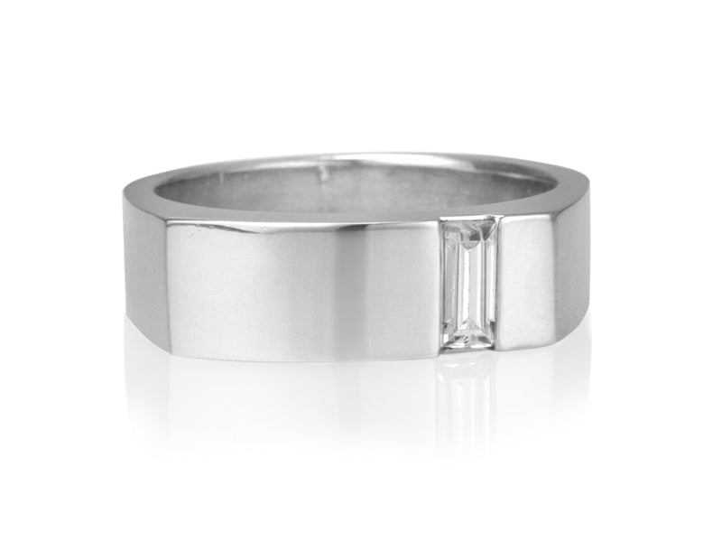 Pamela Lauz Jewellery - Surface Diamond Baguette Ring