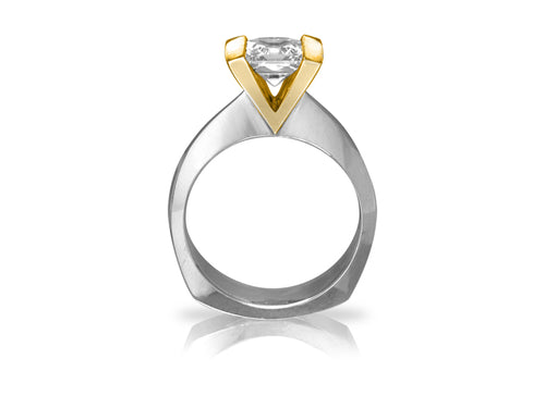 Pamela Lauz Jewellery - Levitas Engagement Ring