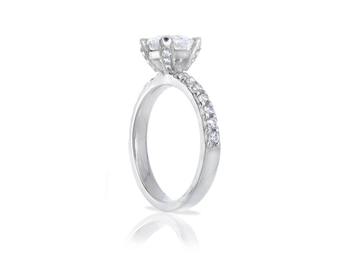 Pamela Lauz Jewellery - Cushion Diamond Engagement Ring